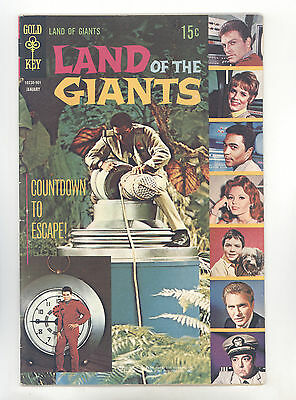 Land of the Giants #2 FN Photo Cover