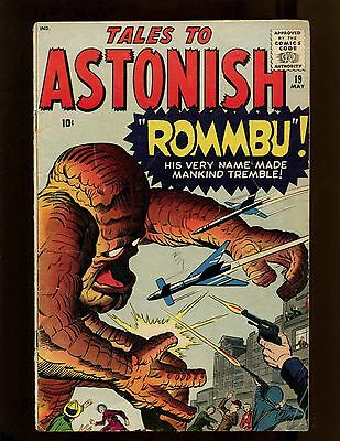 Tales to Astonish #19 VG+ Kirby Ayers Ditko Heck 1st Rommbu