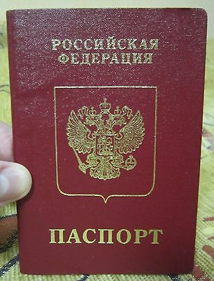 Russia travel document passport reisepass id card book