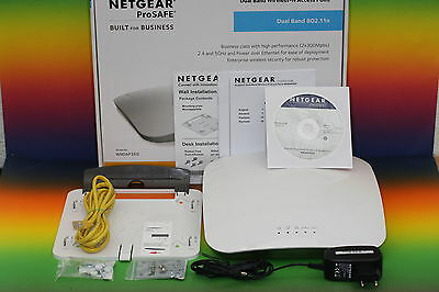 Netgear WNDAP360 Dualband 2.4+5 GHz WLAN-N PoE Access Point Repeater Router OVP