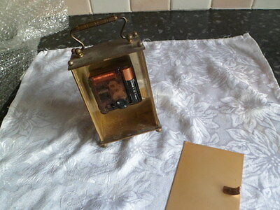 Vintage Smiths carriage clock for spare or repair