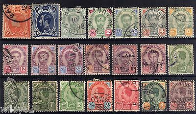 Thailand Earlier Used Selection, 21 Stamps