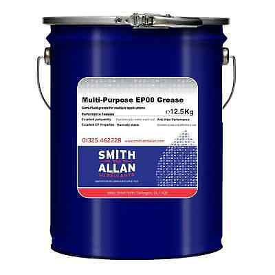 Multi-Purpose EP00 Green Semi-Fluid Grease 12.5KG