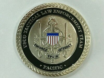 PACTACLET UNIT COIN DSF, TACLET DHS US Coast Guard round coin