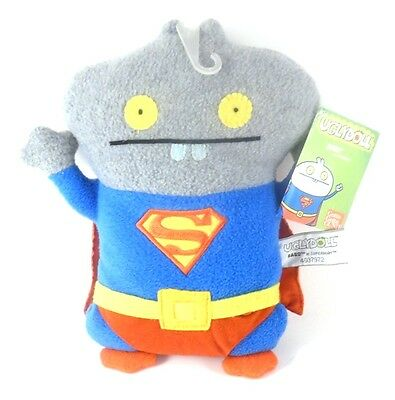 Gund Pretty Ugly Doll Babo as Superman with Cape 10 Inch with Tag #4037972