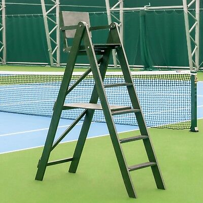 Traditional Tennis Umpire Chair (Wooden) [Net World Sports]