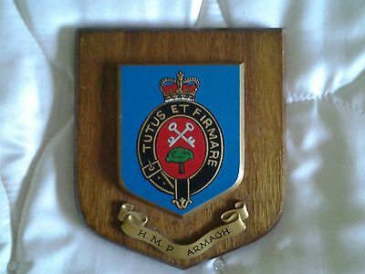 Armagh Women's Prison N. Ireland Commemorative Plaque Limited Edition 1986