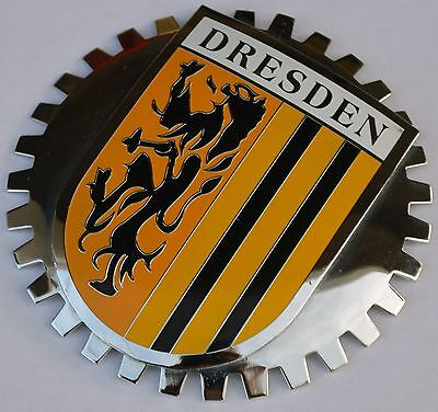 Dresden Germany car grille badge