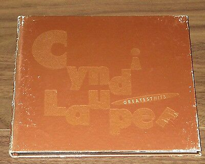 CYNDI LAUPER Japan PROMO ONLY CD digipack 17 tracks GREATEST HITS more listed