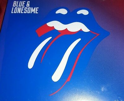 Rolling Stones Blue and Lonesome CD SEALED w/ 16 page booklet! NEW 2016 ALBUM