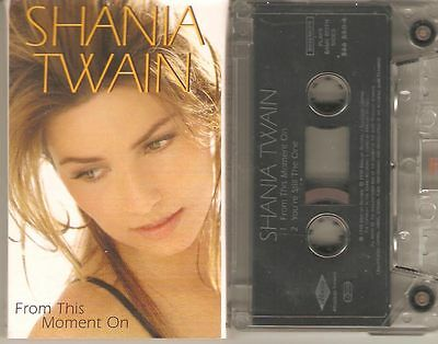 Shania Twain From This Moment On Eu Cassette Single