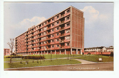 The Flats Stevenage Hertfordshire c1967 Real Photograph M&L National Series