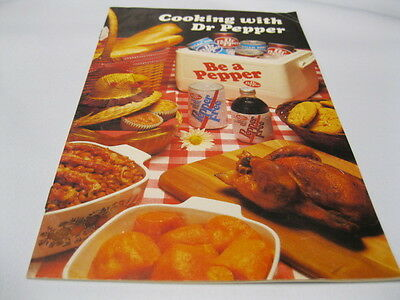 Dr Pepper Cooking With Dr Pepper Booklet