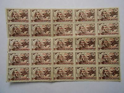 Timbres Indochine Vietnam