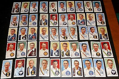 50 Players Cigarette Cards Cricketers 1938 (Mostly Fillers)