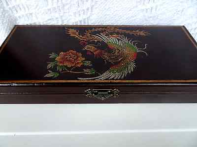 Chinese Abacus in leather box