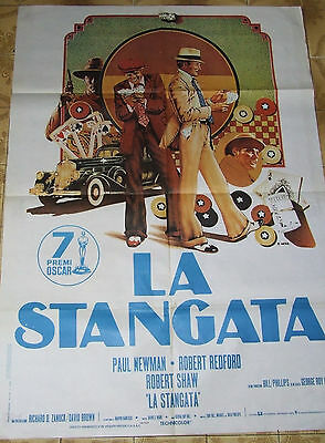 Manifesto Originale  2F /// LA STANGATA /// THE STING - Paul Newman-R. Redford