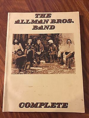 ALLMAN BROTHERS BAND Complete Songbook VINTAGE