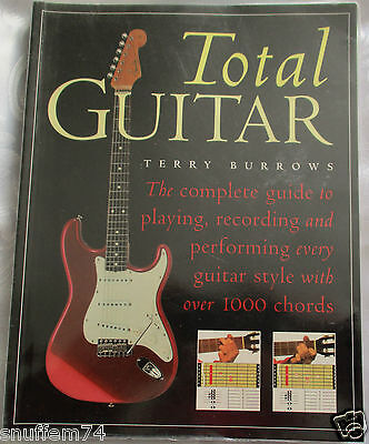 Total Guitar By Terry Burrows