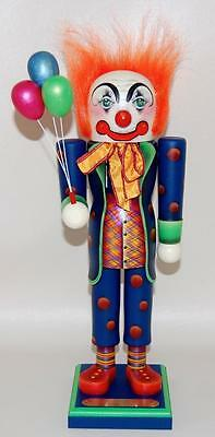 1991 SUSAN MILFORD NUTCRACKER - NATE THE CLOWN - #10 of 2500 SIGNED w/BOX!