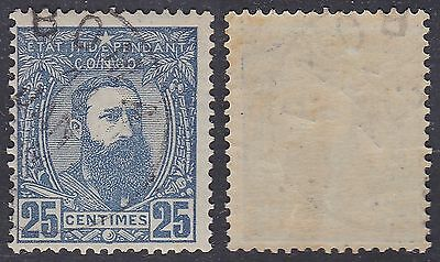 Belgian Congo Belge 1887 - Postage stamp Cob#8 - Used CTO..................A2618