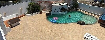 Sunny Lanzarote Large Family Villa Sleeps 16 Ideal Wifi Private Pool Oct 17