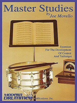 Master Studies: Exercises For Development Of Control And T.... Drums Sheet Music