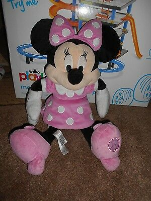 """Disney Store Minnie Mouse Soft Toy 20"""""""