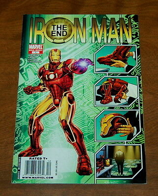 Iron Man The End #1 ONE-SHOT VF/NM Marvel Comics Comic Book
