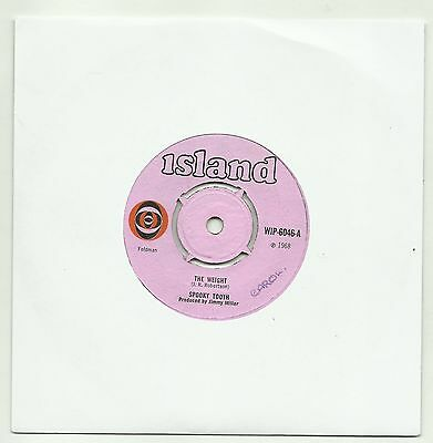 """SPOOKY TOOTH  THE WEIGHT  ORIGINAL UK 7"""" 45rpm SINGLE  VERY GOOD"""