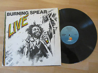 Burning Spear ~ Live ~ 1977 Roots Reggae ~ Live Recording ~ Uk Lp