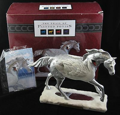 Painted Ponies - THE MAGICAL SWAN - 1E with original BOX and CARD