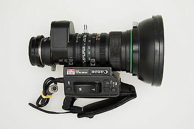 Canon J13x9 B4 lens with 2x doubler, filter, hood & caps - great condition