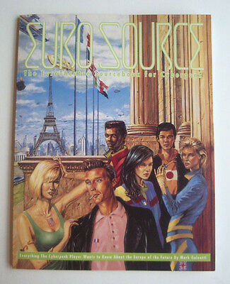 Eurosource - Cyberpunk 2020 Sourcebook - 80 Pages  R.talsorian  Cp3901