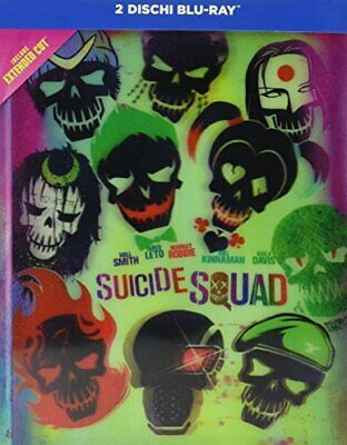 Suicide Squad Collector's Edition Digibook Blu-Ray WARNER HOME VIDEO