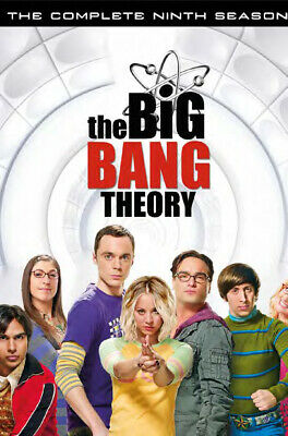 The Big Bang Theory - Stagione 09 (3 Dvd) WARNER HOME VIDEO