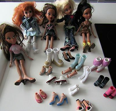 Bratz Doll Bundle Including Lots of Shoes.