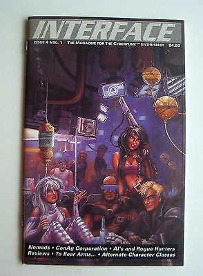 Interface - Issue 4 Vol. 1 - Cyberpunk 2020 Magazine - 56 Pages Prometheus Press