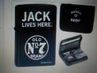 Zippo Jack Daniels Lighter and Playing Card Set (28014)