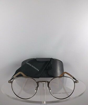 Brand New Authentic Barton Perreira Eyeglasses Fitzgerald ANG Copper Frame