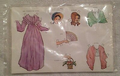 Sturbridge Village Paper Doll Mrs. Towne New Never Been Opened *