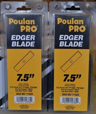 """Poulan Pro 7.5"""" Edger Blade #952-711625 , Lot Of 2, New!   Snapper / Weed Eater"""