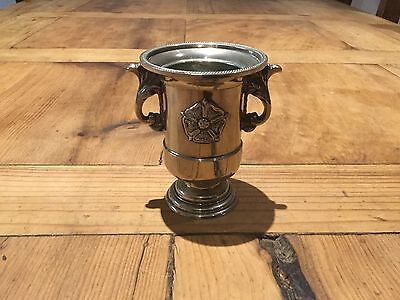 Small Silver Plated Vintage Urn/vase