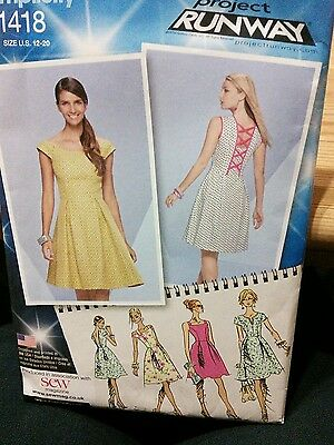 Simplicity K1418 sewing pattern size 12-20