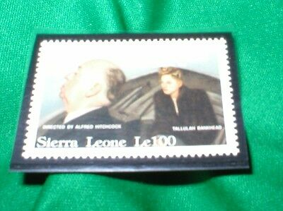 "Sierra Leone stamp Motion Picture ""Lifeboat"" Alfred Hitchcock Scott #1417 MINT"