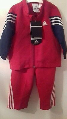 baby boys brand new adidas tracksuit 6-9 months
