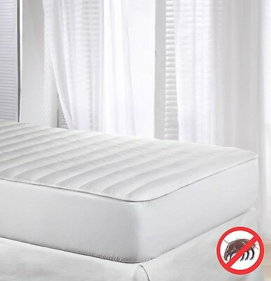 Velfont Anti-dustmite Reversible Silky Soft Quilted Mattress Protector/Mattre...