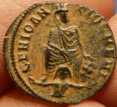 Anonymous Civic Issue during the time of Maximinus II, AE Quarter Follis!!!