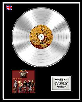 PANIC AT THE DISCO Ltd Edition CD Platinum Disc A FEVER YOU CAN'T SWEAT OUT