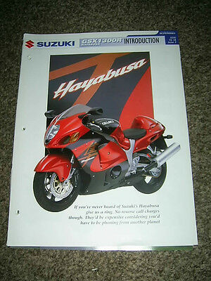 Suzuki GSX1300R HAYABUSA The complete fact file from Essential Superbikes 26 Pgs